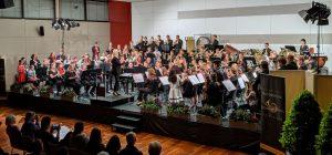 Harmonische 3Klänge mit 4 Orchestern